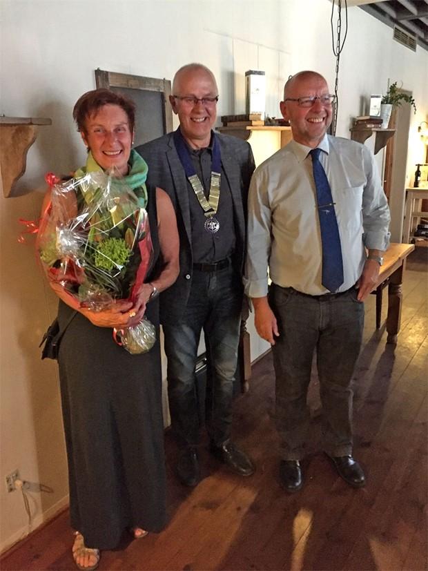 Præsidentskifte i Ølgod Rotary