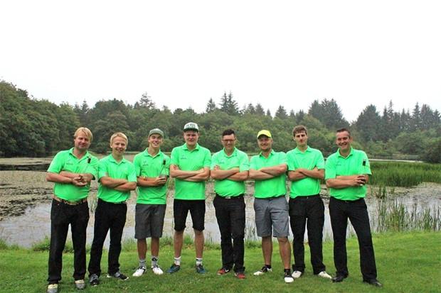 Skærbæk Mølle Golfklub's Elite-herrer klar til endnu et oprykningsspil