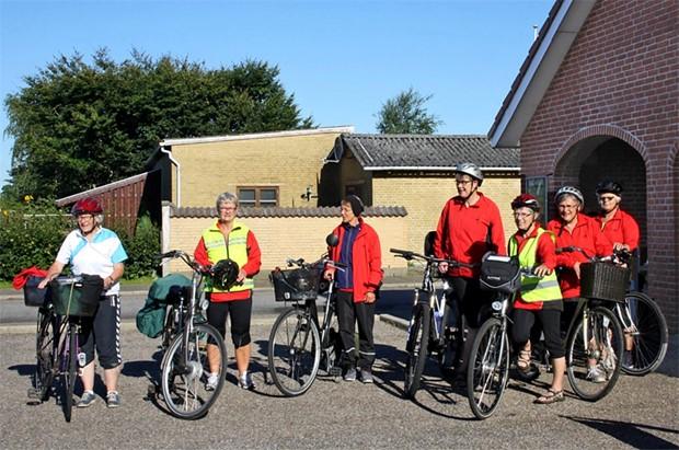 Cykelpiger fra Ådum til Rømø